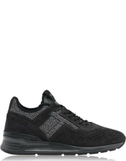 TODS Stitch Logo Trainers - Blk/Gry 56JH