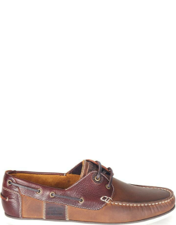 Barbour Capstan Boat Shoes - BeigeBrown BE32