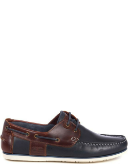 Barbour Capstan Boat Shoes - NavyBrown NY71
