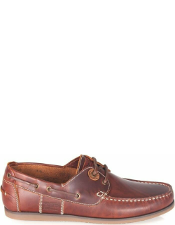 Barbour Capstan Boat Shoes - Mahogany BR73