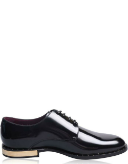 Dolce and Gabbana Napoli Derby Shoes - Nero 80999
