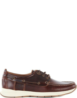 Barbour Cook Boat Shoes - Brown BR71