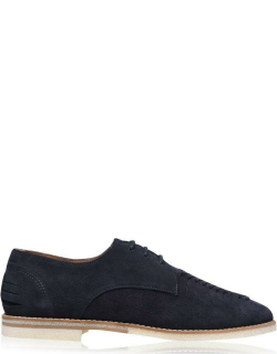 H By Hudson Chatra Shoes - Navy Suede