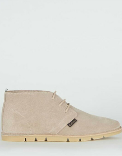 Barbour Ledger Desert Boots - Taupe BE54