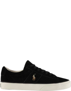 Polo Ralph Lauren Sayer Suede Trainers - Black 003