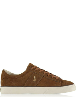 Polo Ralph Lauren Sayer Suede Trainers - Tan 001