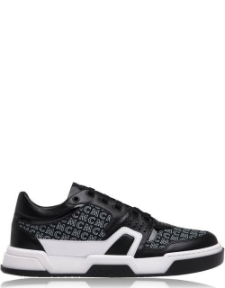 MCM Bball Low Trainers - Black (BK)