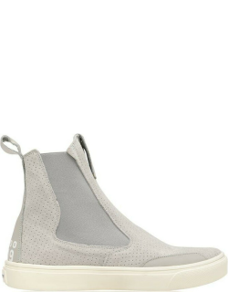 Stone Island Shadow Project Sp Flat Ankle Boot Sn14 - Grey V0060