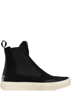 Stone Island Shadow Project Sp Flat Ankle Boot Sn14 - Black V0029
