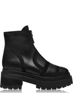Pierre Hardy Frame Boots - Black