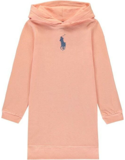 Polo Ralph Lauren Hooded Dress - Deco Coral