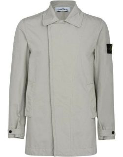 Stone Island Shadow Project Trench Coat - Stucco V0097
