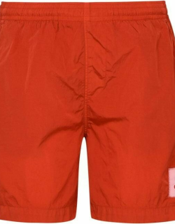 CP Company Patch Swim Shorts - H Risk Red 547