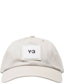 Y3 Square Label Cap - Clear Brown