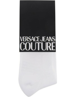 Versace Jeans Couture Logo Socks - White 003