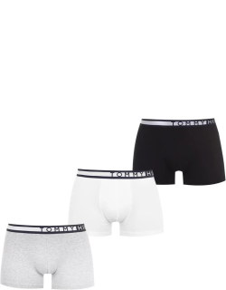Tommy Bodywear 3 Pack Side Boxers - Gry/Wht/Blk