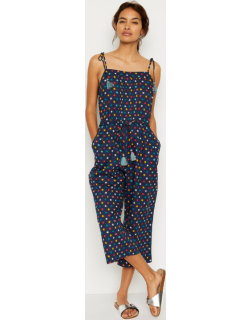 White Stuff Ditsy Star Woven Jumpsuit