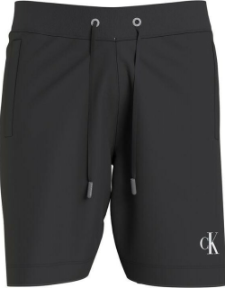 Calvin Klein Jeans Piping Track Shorts - Black BEH