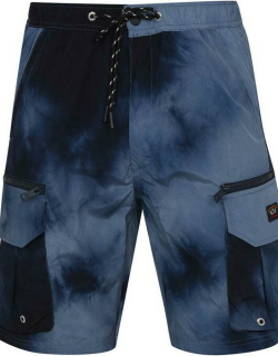 Paul And Shark Woven Swim Shorts - Dyed Navy