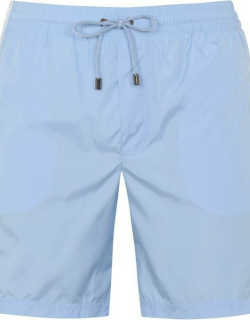 Dolce and Gabbana Piped Swim Trunks - Blue B1581