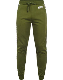 MOSCHINO Slim Tapered Jogging Pants - Mil Green 401