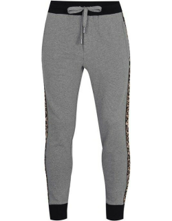Dolce and Gabbana Leopard Joggers - Grey S8291