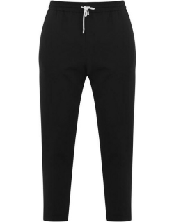 KENZO Tapered Cropped Trousers - Black 99