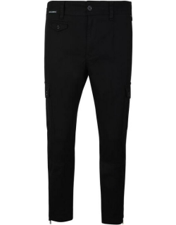 Dolce and Gabbana Tape Cargo Trousers - Black N0000