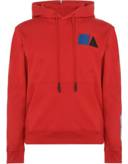MCQ Speed Graphic Oth Hoodie - Red 6540