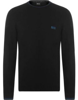 Boss Sructured Knit Sweater - Black 001