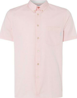 PS Paul Smith Short Sleeve Oxford Shirt - Pink 20