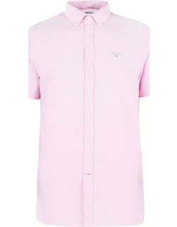 Barbour Oxford 3 S/S Tailored Shirt - Pink