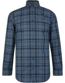 VIVIENNE WESTWOOD Checked Long Sleeve Shirt - Blue Check 002F