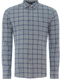 PS Paul Smith Check Long Sleeve Shirt - Periwinkle 44