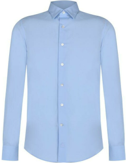 LANVIN Lanvin Fitted Shirt Sn12 - Ice Blue 211