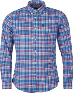 Barbour Highland Check 38 Tailored Shirt - Blue BL33