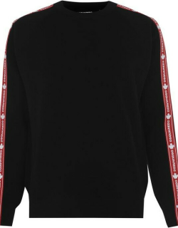 DSQUARED2 Tape Knitted Jumper - Black 961