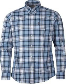Barbour Highland Check 39 Tailored Shirt - Navy NY91