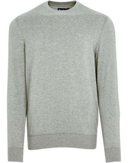 Barbour Light Cotton Crew Neck Sweater - Grey Marl GY52