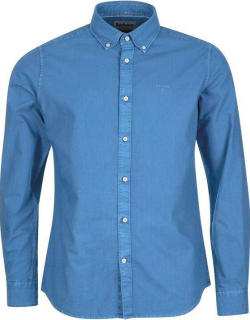 Barbour Oxford 13 Tailored Shirt - Mid Blue BL54
