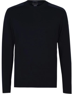 Paul And Shark Paul and Shark Round Neck Knit Jumper - Navy 050