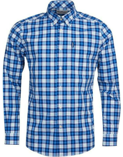 Barbour Highland Check 28 Tailored Shirt - Blue BL33