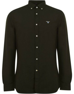 Barbour Oxford 3 Shirt - Forest GN91