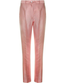 Dolce and Gabbana Satin Trousers - Rosa F0660