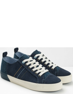 White Stuff Bailey Suede Lace Up Trainers