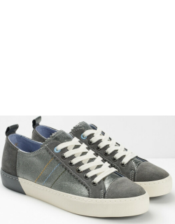 White Stuff Alana Leather Lace Up Trainer