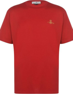 Vivienne Westwood Squiggle Orb t Shirt - Red 305