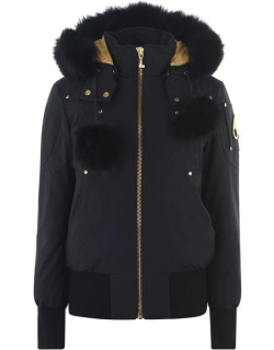 MOOSE KNUCKLES St Flavly Bomber Jacket - Navy 402