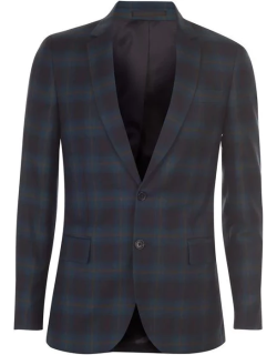 Paul Smith Tailoring PS Mid Fit Check Jacket Mens - Green 79