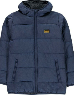 Barbour International Court Quilted Jacket - Inky Blue